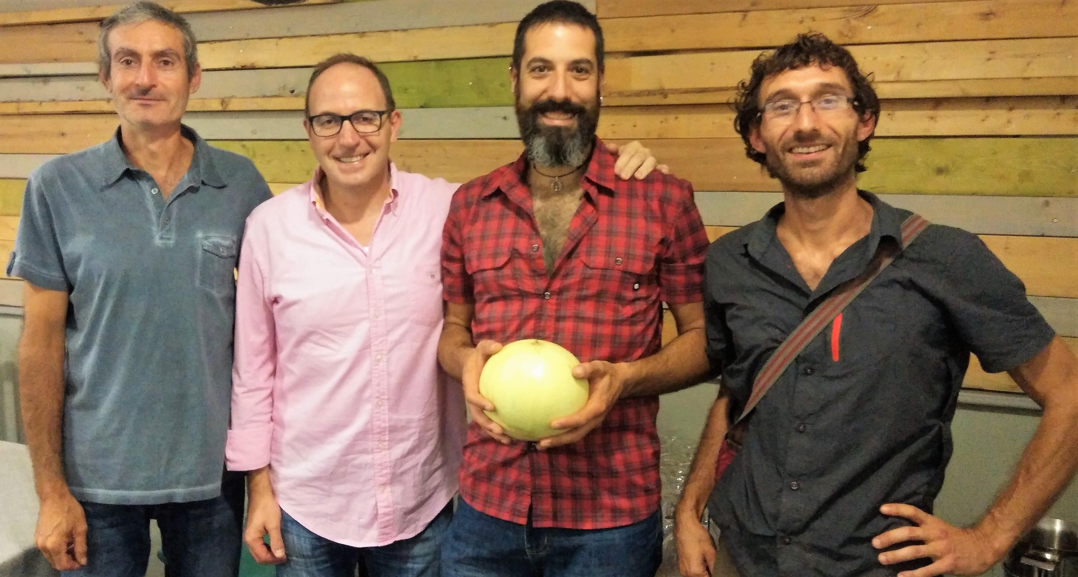 CATA melon en sariñena 30 sept 2017